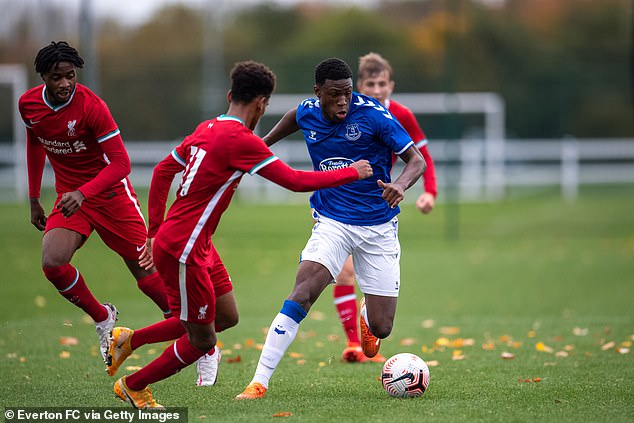 Small plays regularly for Everton's U23s and U18s, and scored in their 3-2 win over Burnley