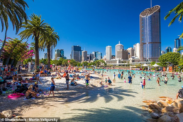With long stretches of dining facilities, expansive parks and even a man made beach, South Bank (pictured) has something for everyone