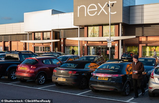 Today's parking squeeze: Off-street bay sizes have remained the same since the 1970s but with vehicles forever increasing in dimension they could soon be too big for car parks, according to a new report
