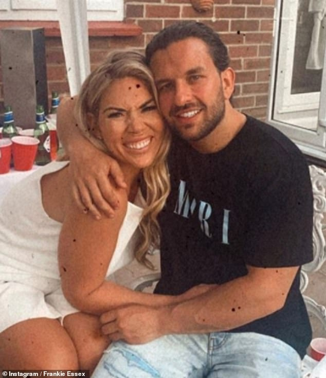 'I definitely don't feel pressured to get married': In the relationship department, the influencer has been dating her boyfriend Luke for over a year (pictured in June)