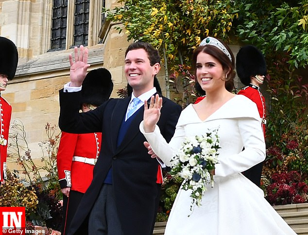 Lycett, who did the floristry for Princess Eugenie's 2018 wedding to Jack Brooksbank and is a judge on US competitive show Full Bloom, said the 'multi-billion pound events industry has been totally forgotten by the UK