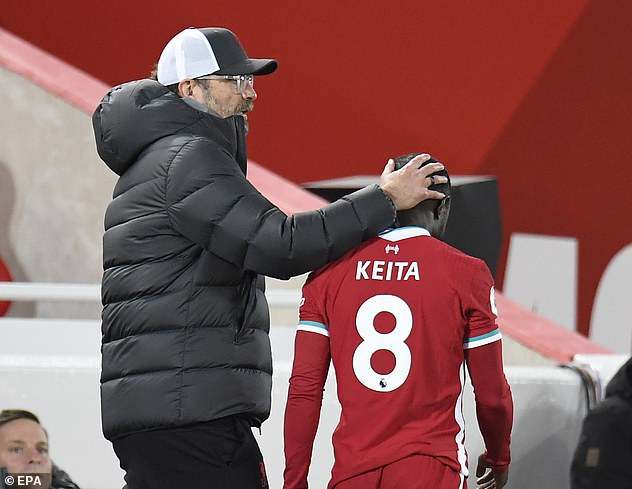 Midfielder Naby Keita has joined growing Premier League champions injury list