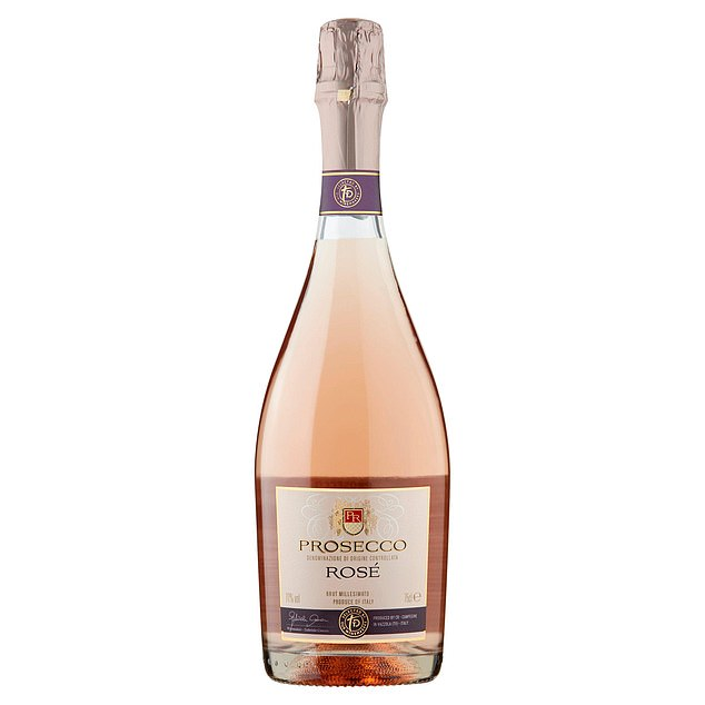 Helen saidTaste The Difference Prosecco Rosé (pictured) has lovely, light strawberry aromas and plenty of summer pudding flavours on the palate