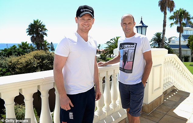 England captain Eoin Morgan (left) sat down for a chat with Sportsmail's Nasser Hussain (right)