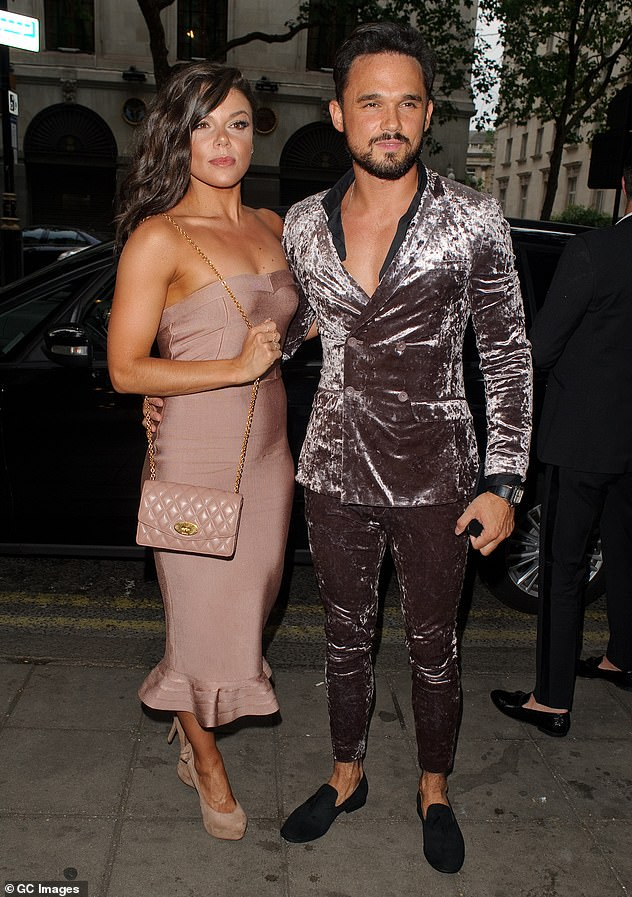 Ex:Gareth split from his fiancée Faye Brookes last year after a seven-year romance, mere months after the pair had announced their engagement (pictured in June 2018)