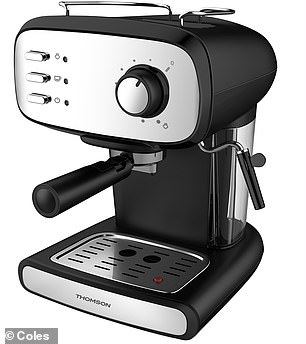 The range will include affordable big ticket items such as an espresso machine (for $79.99