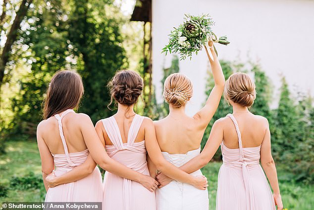 A woman who has decided to quit as her friend's maid of honour because her own fiance isn't invited to the party