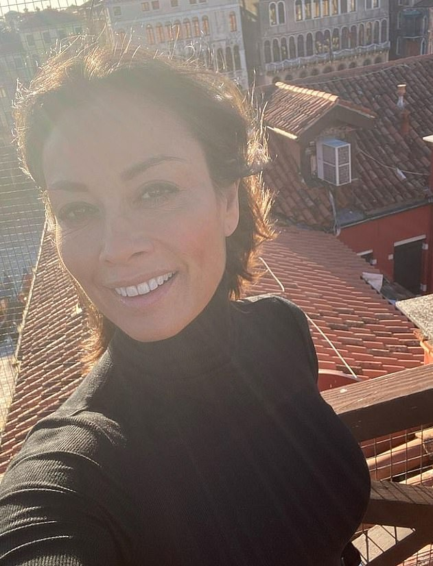 Fun in the sun!She shared glimpses of her romantic getaway with Riccardo to Instagram last week, with the couple recently enjoing a day out in Lake Garda