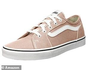 Vans Women's Filmore Decon Sneaker in Pink Spanish Villa