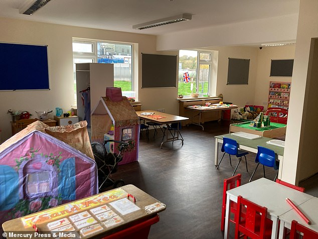 Broadheath Day Nursery in Worcester will be able to look after 60 pre-school age children at any one time when it finally opens in December