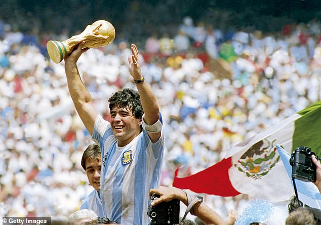 The world of football is in mourning following the death of Argentina icon Diego Maradona