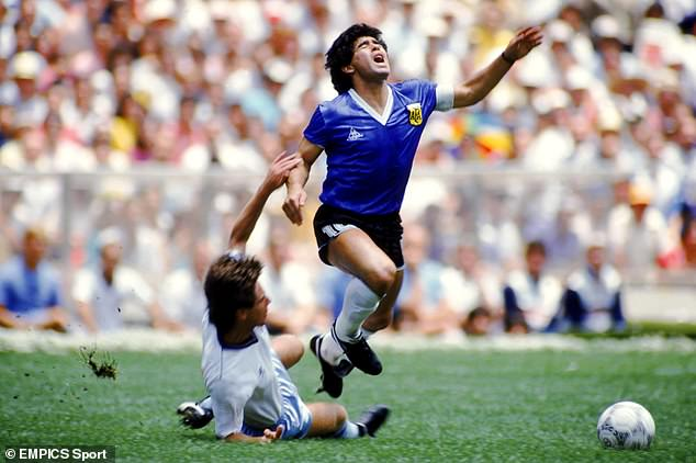 Ex-England defender Terry Fenwick had task of trying to stop Maradona at the 1986 World Cup
