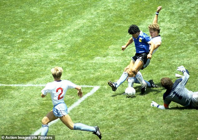 Maradona scored one of the greatest goals of all time against England at the 1986 World Cup