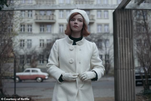 The White Queen, by costume designer Gabriele Binder, is the final look worn by Beth in the series