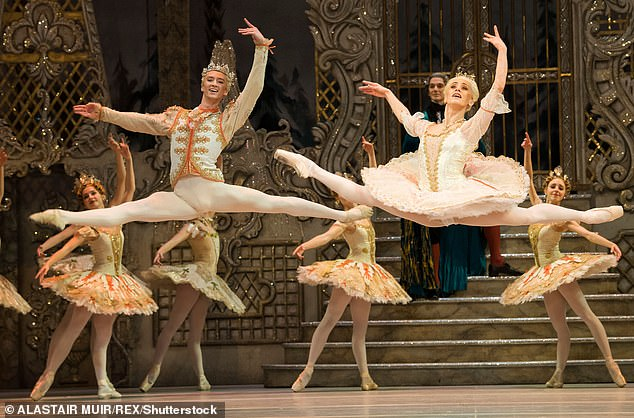 The Nutcracker at the Royal Opera House in London has been told it can go ahead (pictured)