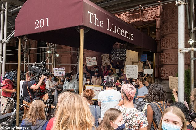 A Manhattan judge on Wednesday ruled that city officials could relocate the homeless men from the Lucerne hotel where they have been living since July.The ruling comes after a string of lawsuits and protests over the past four months
