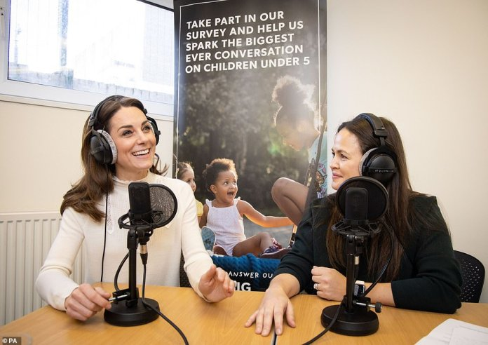 Kate spoke at length about the survey and her experience as a mother onGiovanna Fletcher's Happy Mum Happy Baby podcast in February