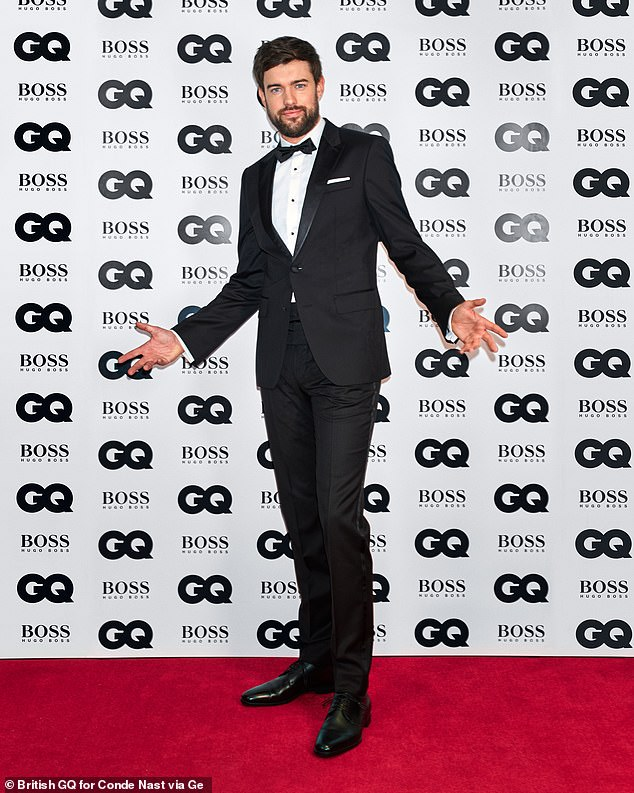 The host!The 2020 award winners were announced by host Jack Whitehall, 32 - who was filmed from the coliseum London - with fans watching their heroes triumph online