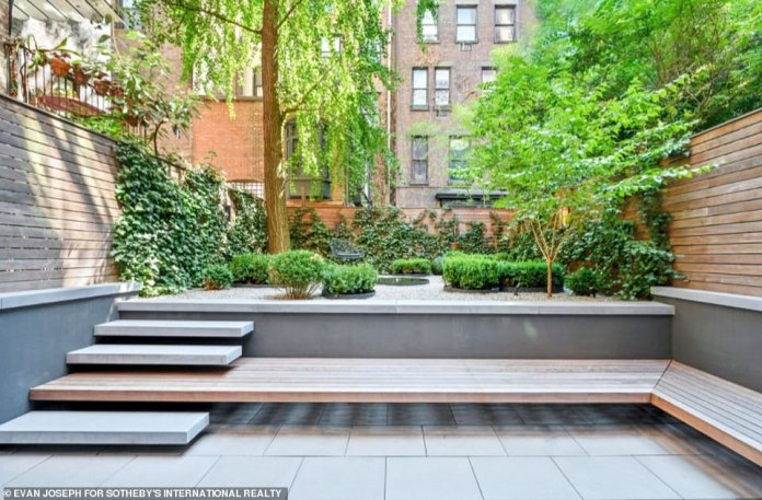 The sellers have done an outstanding job of tending to the property's back garden, and have created the perfect place to relax and unwind, despite still being in the heart of Manhattan