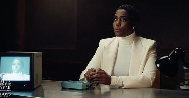 No! 'Have you been told who the next Bond is?' came the next question, with Lashana answering plainly: 'No,' which led to the machine whirring, insinuating that she was lying
