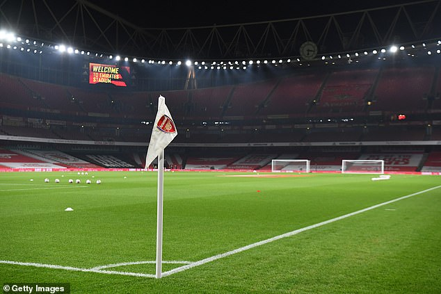 Arsenal and other London clubs were placed in Tier 2 so can allow a limited number of fans back in - but the likes of Man United can't after Manchester was put into Tier 3