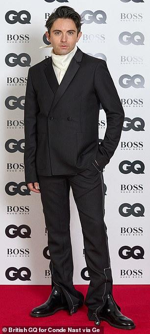 Designer: Next In Fashion star Daniel W Fletcher was named Peroni Breakthrough Designer