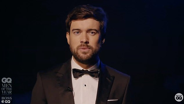 Host: Comedian Jack Whitehall hosted the first ever virtual ceremony at London's Coliseum