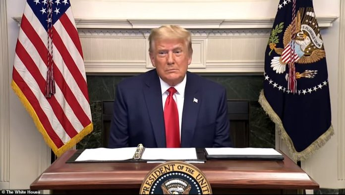President Donald Trump on Thursday took his first questions from reporters after the election