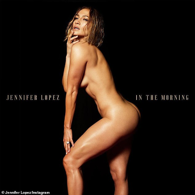 Wow! Singer J-Lo, 51, stripped naked to promote the release of new single, stunning fans with her gym-toned physique