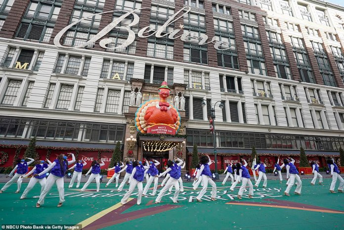 Macy's was also criticized for referring to the historically black sorority steppers Zeta Phi Beta as a 'diverse dance group' in a tweet that was quickly deleted