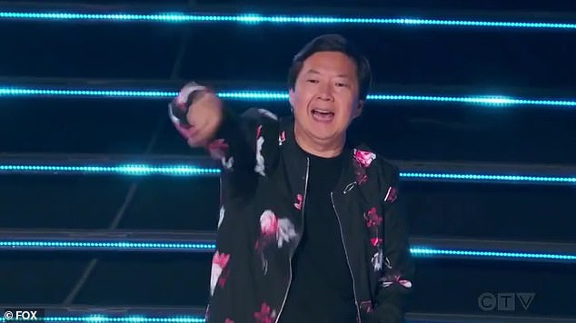 Ken's guess:Ken Jeong thinks it might be The Weeknd, as The Mushsroom says changing things up has been his/her strategy from the start.=