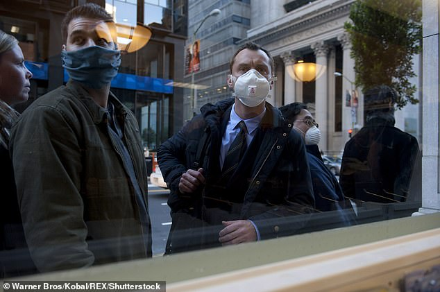 Inevitable: 'There was absolutely the sense that this was going to happen,' said the 47-year-old when discussing his most iconic roles. Seen here in Contagion, 2011