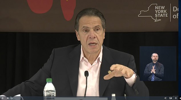 Gov. Andrew Cuomo has unveiled a 'winter plan' to deal with the virus in anticipation of a possible second wave of COVID-19