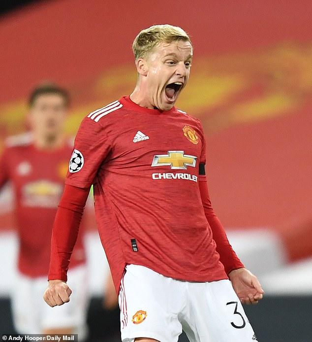 Manchester United midfielder Donny van de Beek has been linked with a move to Juventus