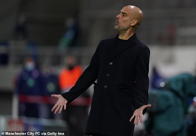 Manchester City boss Pep Guardiola claimed this week that the intense fixture schedule means that English teams are 'always at a disadvantage' when it comes to playing in Europe