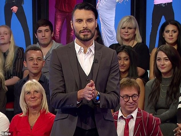 Hard work: Rylan is known for his gig on Big Brother spin-off show Bit on the Side and countless TV jobs such as on This Morning, Supermarket Sweep and Ready, Steady, Cook