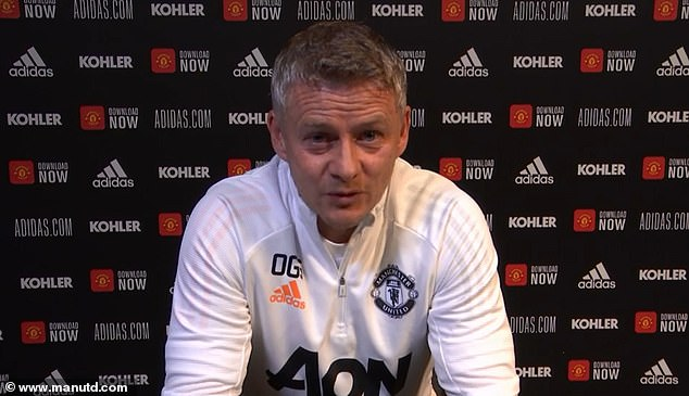 United boss Solskjaer was speaking ahead of his side's tough trip to high-flying Southampton