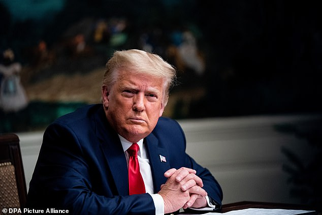 President Donald Trump continued his rant against Twitter on Friday morning, accusing it of acting like a communist country