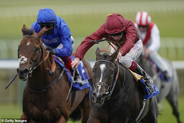 The champion jockey (right) has protested his innocence that he did not take the Class A drug