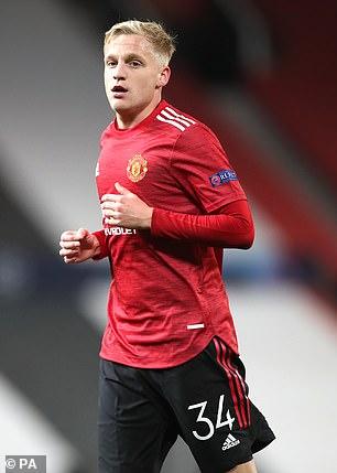 Donny van de Beek was a £40m arrival from Ajax