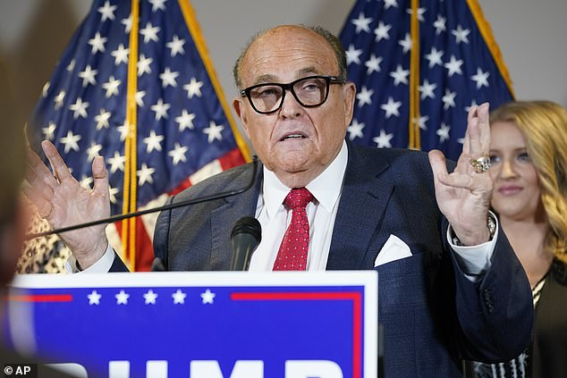 Rudy Giuliani, President Trump's personal attorney, argued the case for the president