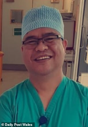 Wilbert Catalanl Lobrera died after being struck by a car outside Wrexham Maelor Hospital, where he worked as a nurse