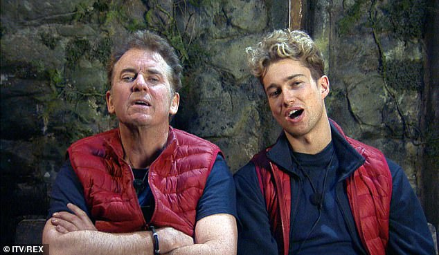 Yikes! AJ Pritchard's girlfriend Abbie Quinnen has hit back at the Shane Richie, 56, feud on I'm A Celeb as she insisted that her beau, 26, is struggling to cope because he's 'OCD and hangry'