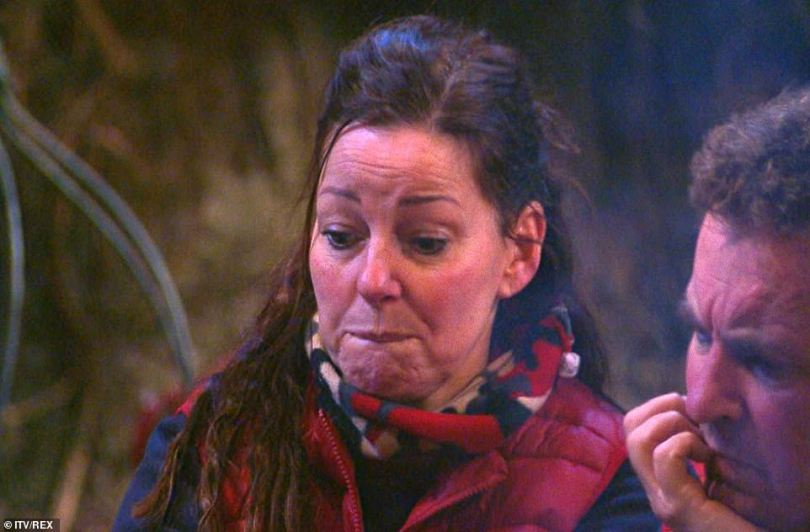 It's been amazing!Ruthie Henshall thanked the celebrities for her experience, as the campmates paid tribute to one another