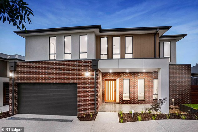 One oftwo five-bedroom townhouses on Koonung Court in Doncaster in Melbourne's east, which Pusey is expected to sell for a combined total of $2.9 to $3.1 million