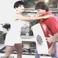 Kris Jenner shows off self-defence moves by 'attacking' pre-transition Caitlyn