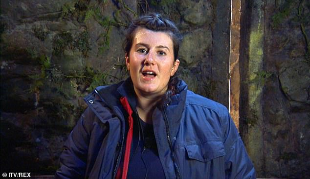 Having her say:  Following her I'm A Celebrity exit, Hollie Arnold hit back at the furore over her introducing herself to her fellow campmates using her MBE title on their first day on the show