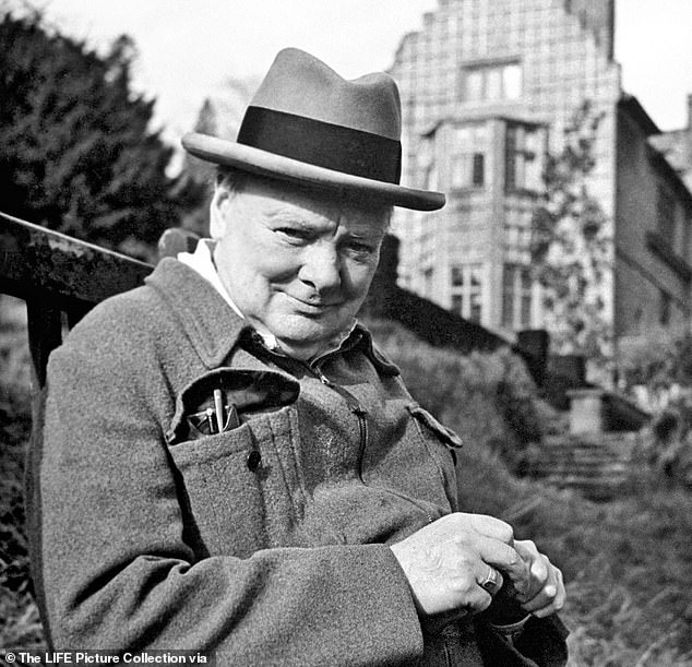 The Common Sense Group called for Prime Ministerto intervene after trust published review of the colonial links of some of its properties (pictured: Winston Churchill)