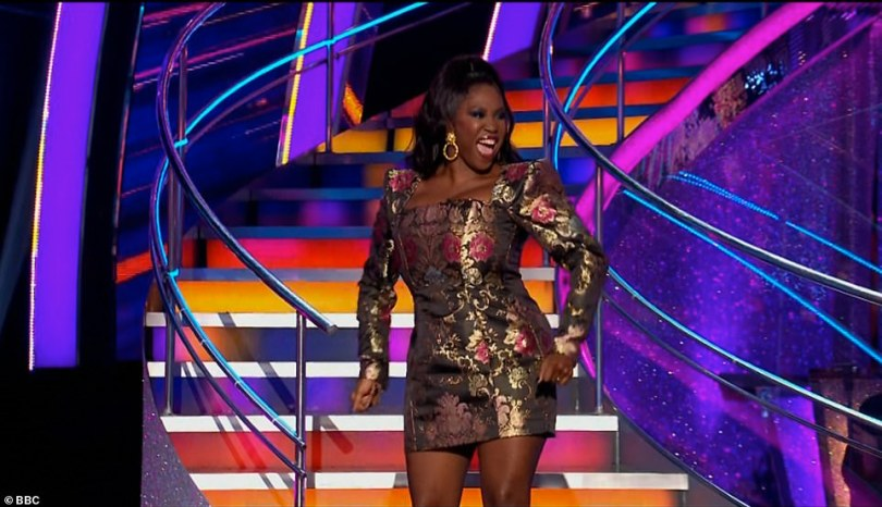 She's back! Motsi Mabuse made a triumphant return to the Strictly Come Dancing judging panel on Saturday night, following her two week hiatus