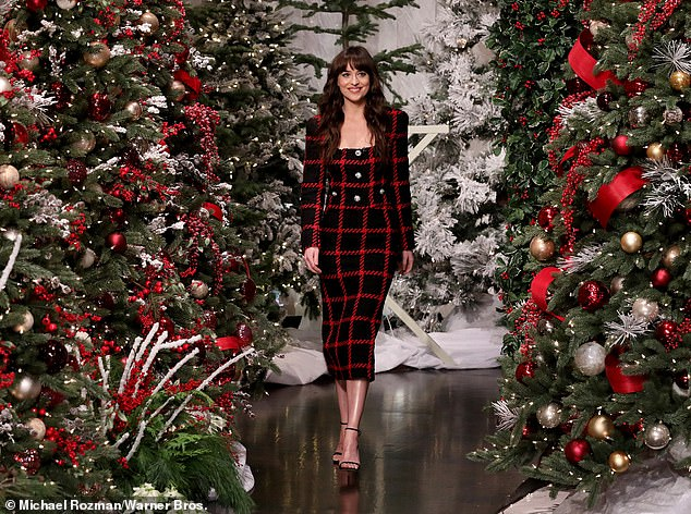 Back in the news: Her controversies were at the center of concern again on Friday, when social media users shared photos of Dakota Johnson's appearance on her show exactly a year earlier.